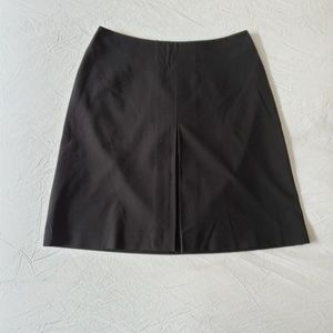 The Limited Stretch Pleat Skirt Black